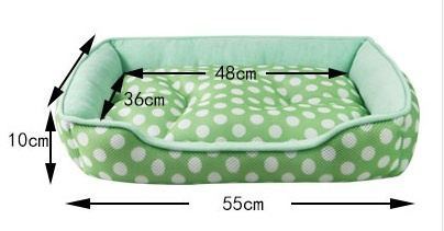 Dog pet bed Terry material