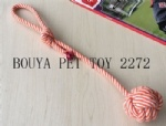 handmade Cotton rope ring for dog playing toy 2272