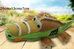 Pet toy Canvas aimal shape dog toy