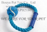 Dog toy rope with tennis 2180